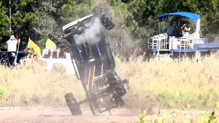 Mega Mud Truck Wreck - Trucks Gone Wild