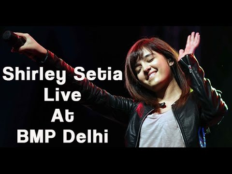 Shirley Setia (Muskurane Ki Wajah) Live Performance at Bollywood Music Project Delhi (Glimpse)