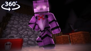 Download Five Nights At Freddy's - ANIMATRONIC VISION! - Minecraft 360° Video Mp3 and Videos