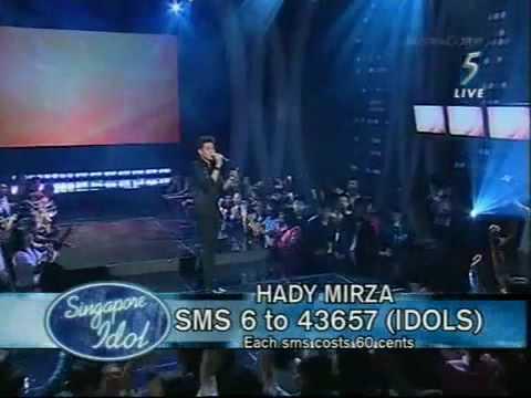 Singapore Idol 2 (2006) - Hardy Mirza sings 'Lagenda'
