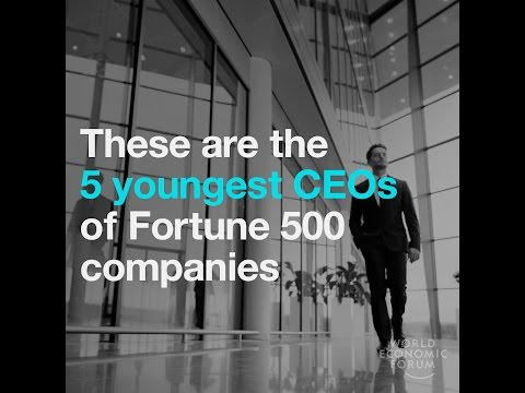 These are the 5 youngest CEOs of Fortune 500 companies