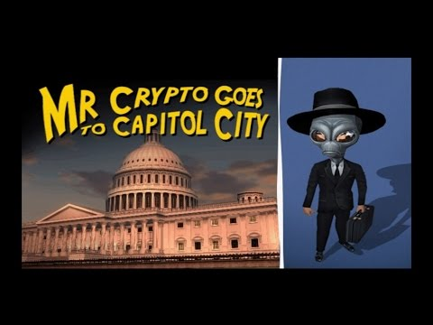 DESTROY ALL HUMANS! PS4 Walkthrough Part 17 - Mr. Crypto Goes To Capitol City!