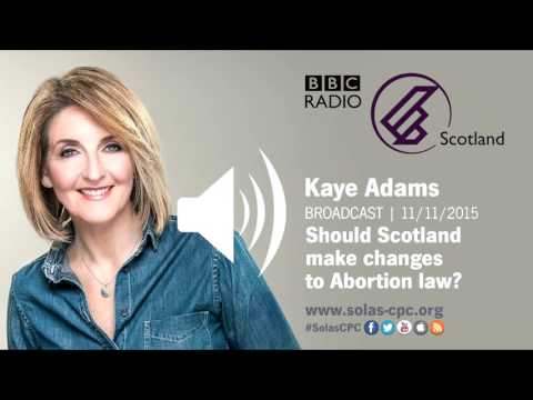 Should Scotland make changes to abortion law?