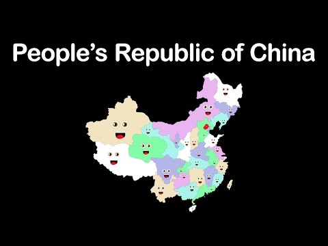 China/Peoples Republic of China/China's Divisions