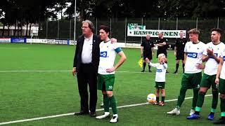 Huldiging Maikel van Kesteren (Groene Ster) voor zijn 400e wedstrijd 26-05-2019