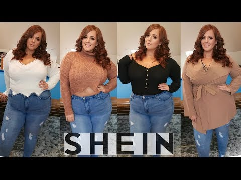 COZY FALL SWEATERS | SHEIN Plus Size Try On Haul 2019 | OLIVIASWORLD95