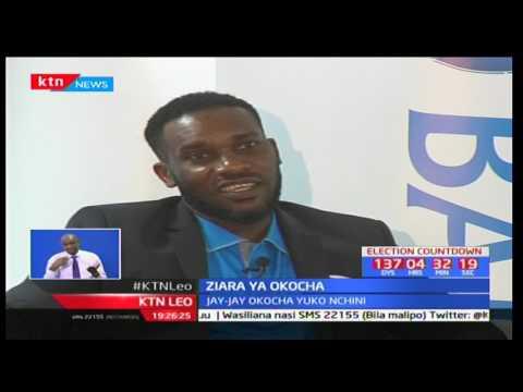 Jay Jay Okocha azuru Kenya kuhudhuria mashindano ya Kenya Open