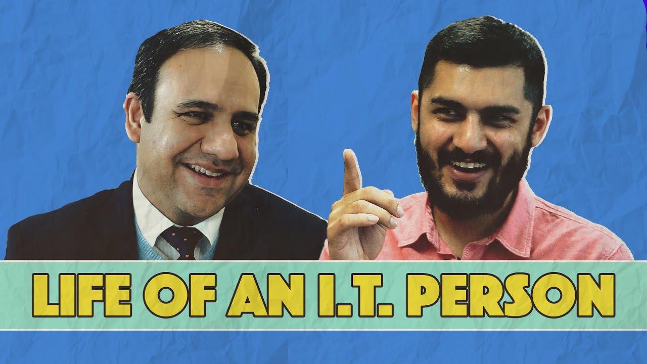 Life of An I.T. Person (feat. Dr. Umar Saif) |  Kaamchor | MangoBaaz