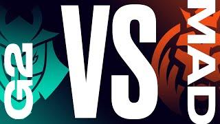 G2 vs. MAD - Playoffs Round 1 | LEC Summer Split | G2 Esports  vs. MAD Lions | Game 1 (2021)