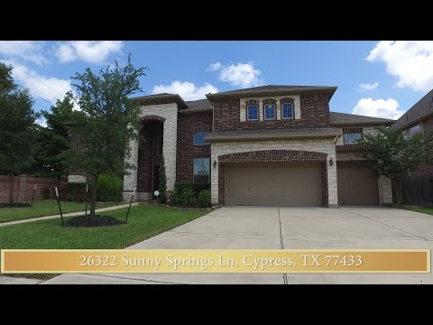 26322 Sunny Springs Ln, Cypress, TX 77433 1 1