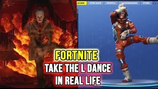 "Fortnite Dance ""TAKE THE L"" in REAL LIFE (Original Video 2018) #FortniteDance"