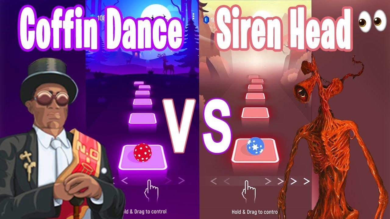 Download Coffin Dance Song VS Siren Head Song -Tiles Hop EDM RUSH!