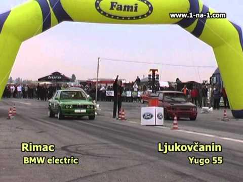 World fastest Yugo vs World fastest electric car