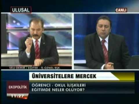 Eğitim-İş Genel Başkanı Veli Demir, Ulusal Kanal'da Ekopolitik programına konuk oldu