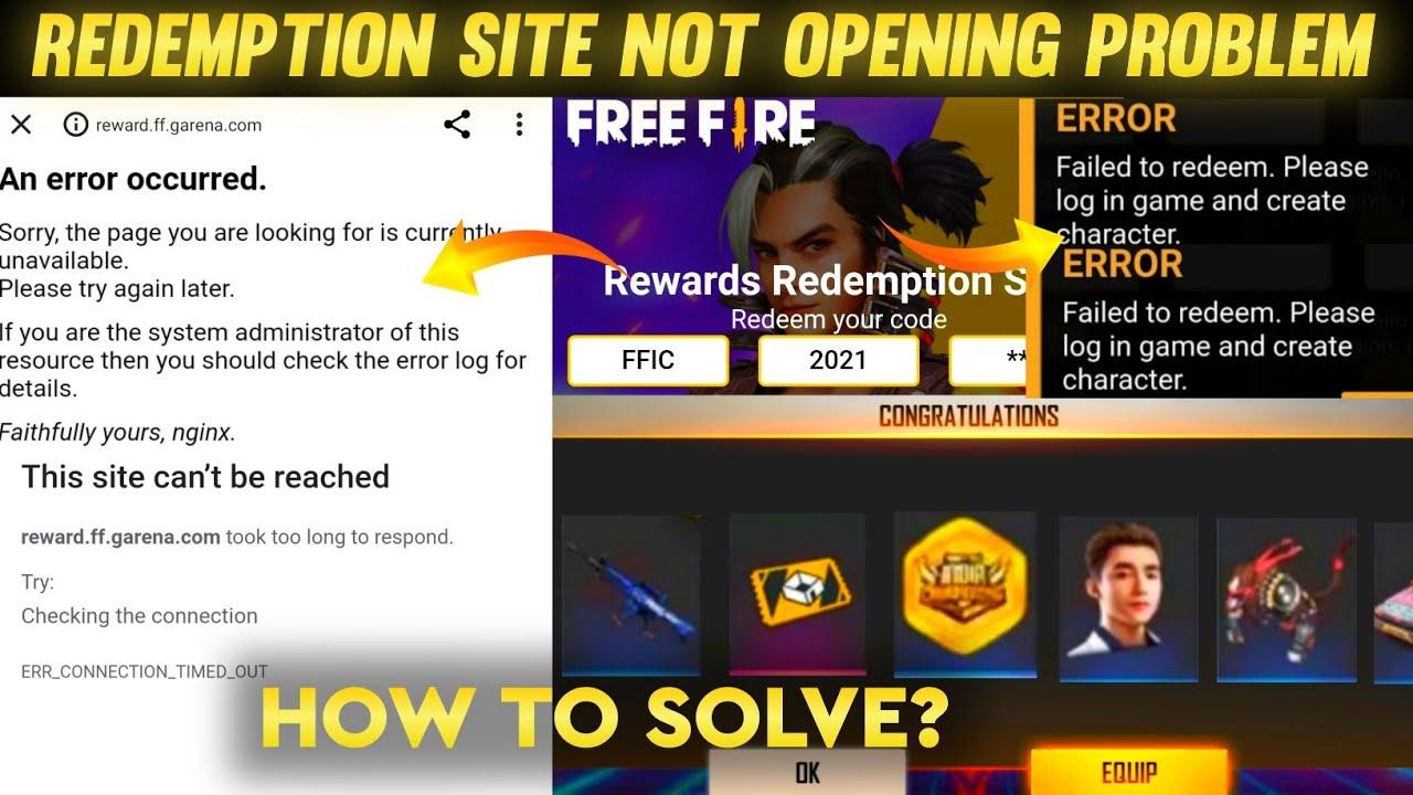 Download Reward Redemption Site Not Working Problem 😭  How To Solve 🤔  Code Redeem Kyu Nahi Ho Raha Hai?