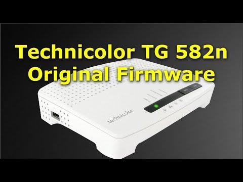 Technicolor TG582n Router ( Original Firmware and Configuration ) | TG582n  تحديث أصلي وإعداد للراوتر