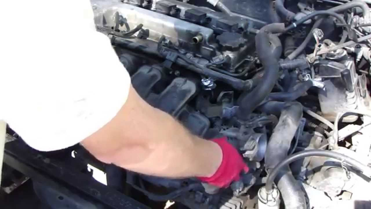 How to replace Toyota Corolla VVTi engine project: Part