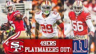 Live! 49ers vs Giants NFL 2018 Week 10 Predictions