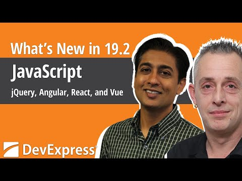 What's New in v19.2 - JavaScript: jQuery, Angular, React, and Vue thumbnail