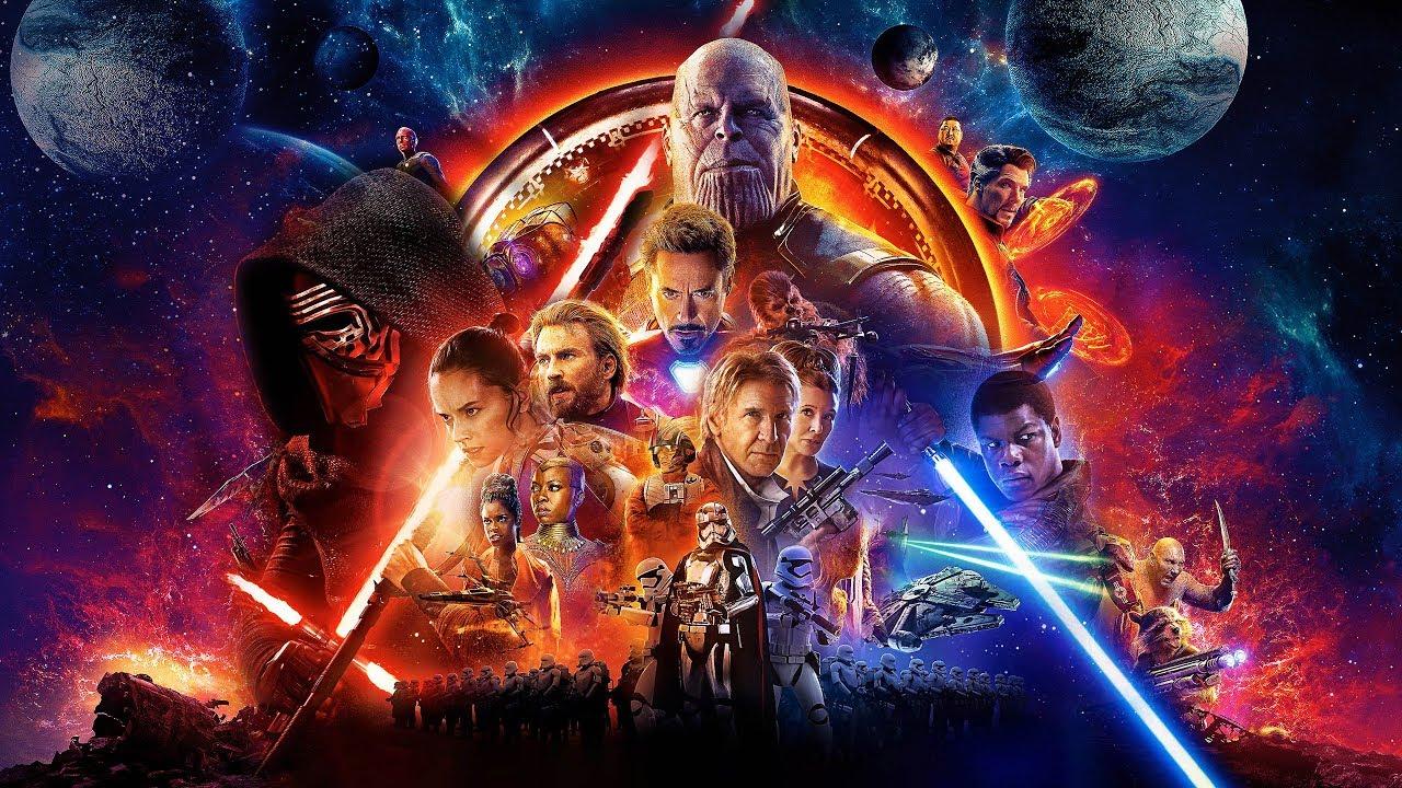 Avengers X Star Wars  Theme Mashup - YouTube