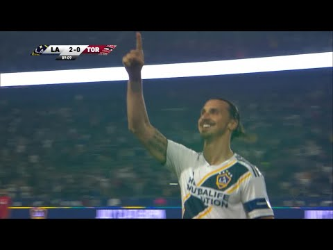Zlatan Ibrahimovic sets off the fireworks with two goals against Toronto!