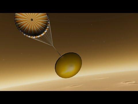 NASA's InSight Landing Simulation