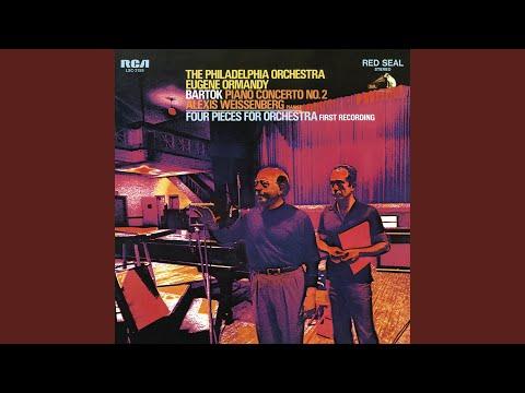 Intermezzo, Four Pieces for Orchestra No. 3, Sz. 51/3: Preludio (Remastered 2003)