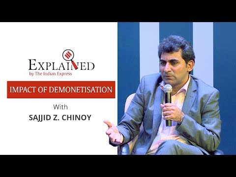 Demonetisation Has Near Term Negative Impact On Growth; Will Benefit In The Long Run: Sajjid Chinoy
