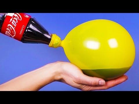 Как налить воду в воздушный шарик видео