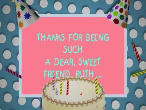 Happy Birthday Cake Ruth