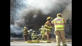 2012 march 10 fire video in Covington, Pa. by Lonny Frost part 2