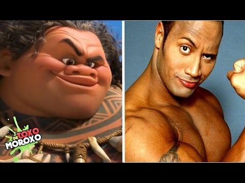 7 Actores que son Iguales a sus Personajes de Disney y Pixar   Con Jega Toons