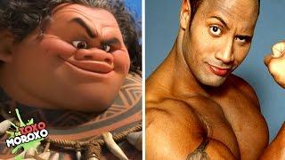 7 Actores que son Iguales a sus Personajes de Disney y Pixar | Con Jega Toons