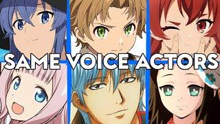 Mushoku Tensei All Characters Japanese Dub Voice Actors Seiyuu Same Anime Characters