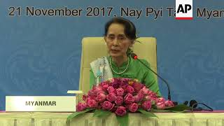 ASEM FMs encouraged by efforts to return Rohingyas to Myanmar