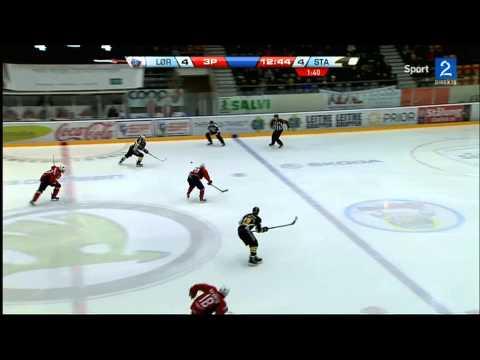 Lørenskog - Stavanger Oilers. Sjette semifinale 2013
