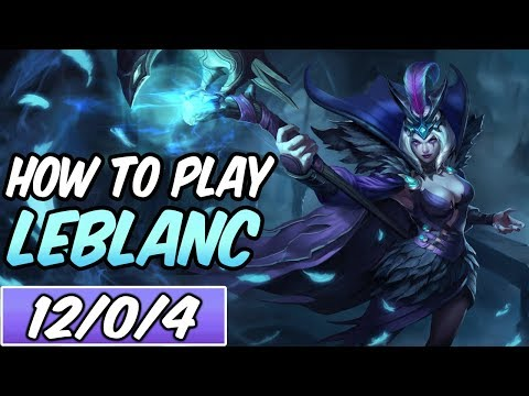 HOW TO PLAY LEBLANC | Build & Runes | Diamond Commentary | Ravenborn LeBlanc | League of Legends
