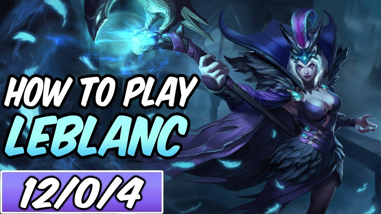 How To Play Leblanc Build Runes Diamond Commentary Ravenborn