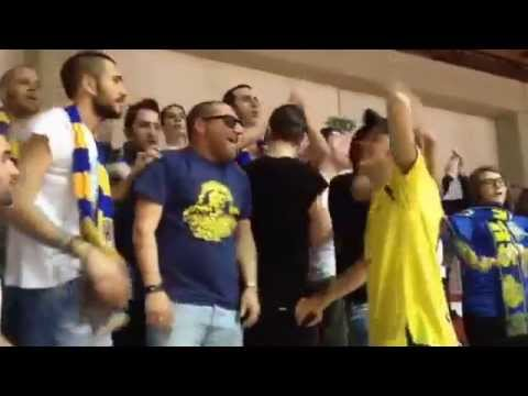 Dale Segrate! Supporters Segrate a Monselice