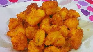 Crunchy Best Homemade Potato Nuggets Recipe - Potato Pakora - Aloo Pakora – Besan Pakora