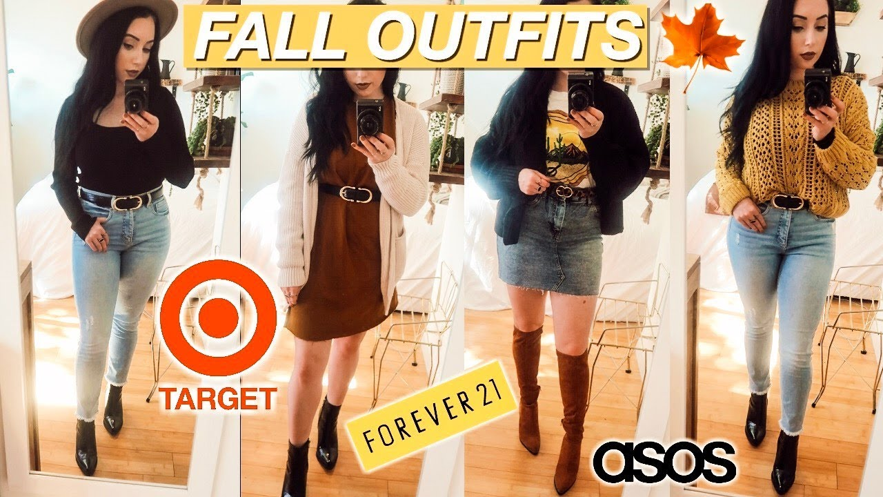 FALL CASUAL OUTFIT IDEAS 2019 | Target, Asos, Forever21 9
