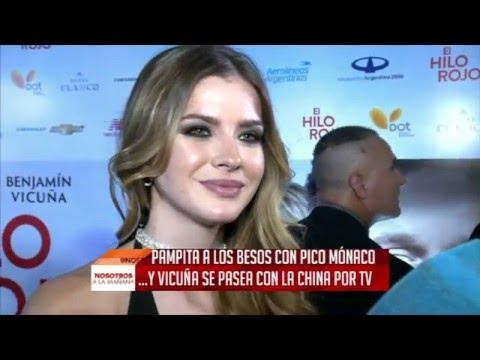 La China Suárez habló de la foto del beso entre Pampita y Pico Mónaco