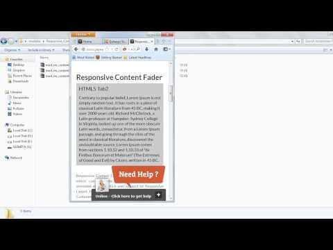 Responsive Content Fader Joomla Module