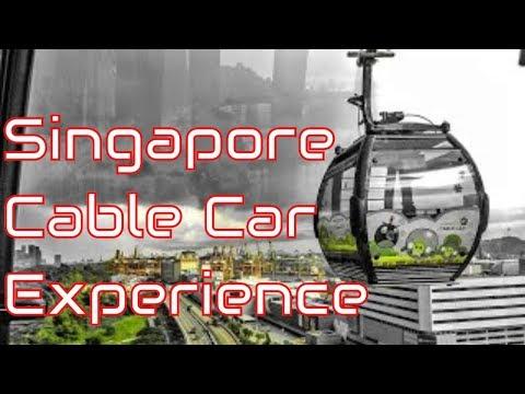 Singapore Cable Car : Mount Faber to Sentosa Island, Singapore