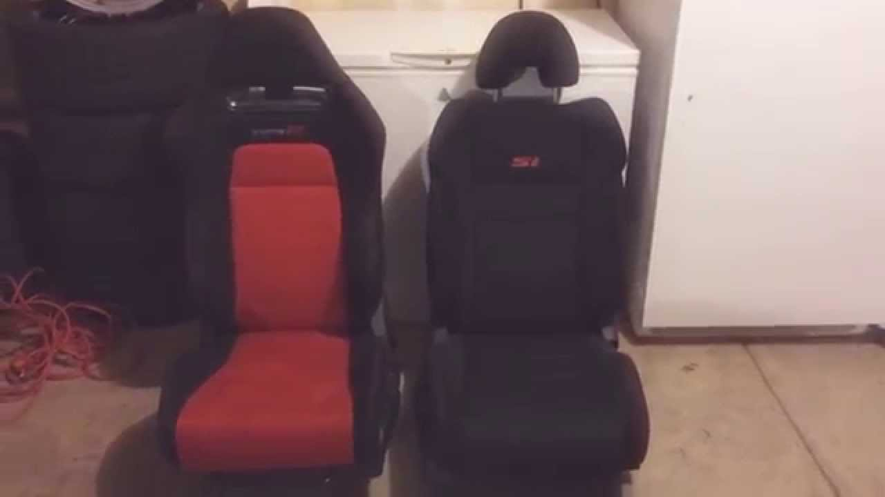 JDM Civic Type R Recaro Seats Part 3: Si Seat Vs Type R Comparison   YouTube