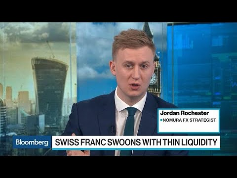 Swiss Franc `Flash Crash' Caused By Fat-Finger Trade, Nomura Says