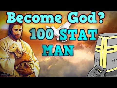 CRUSADER KINGS 2 BUT I HAVE 100 STATS - The 100 Stat Man Highlights / Funny Moments