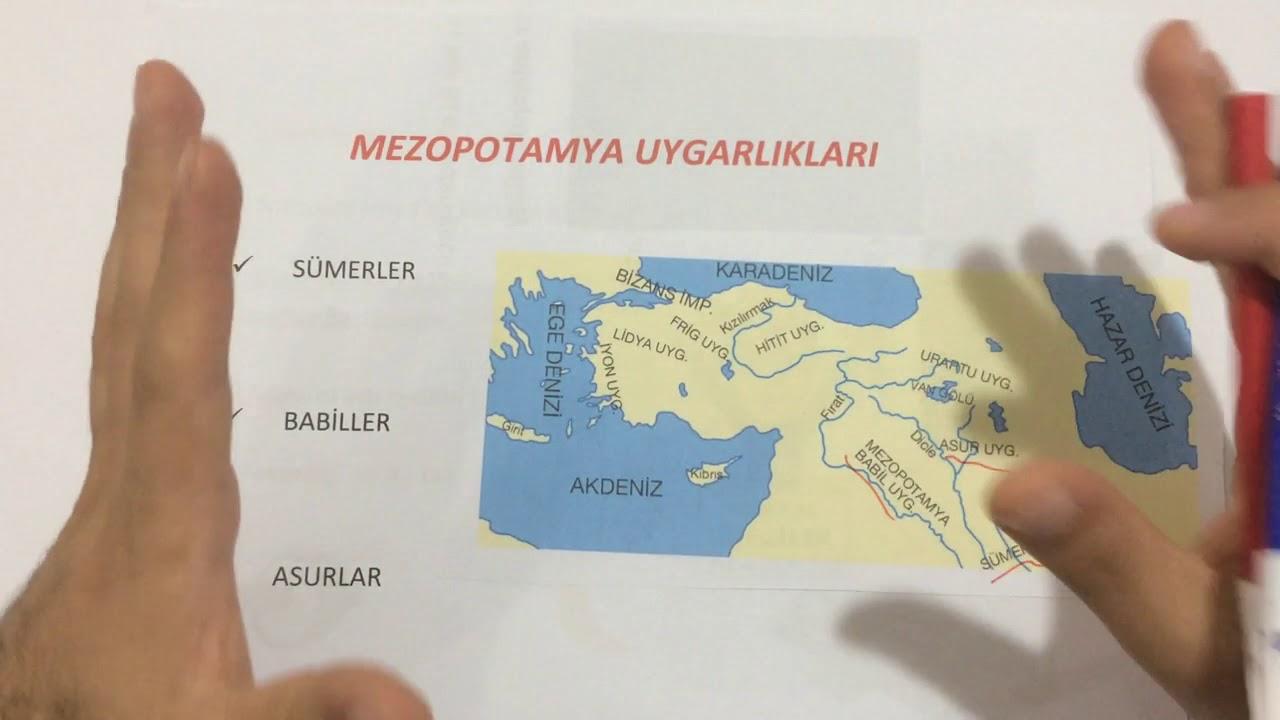5 sinif sosyal bilgiler anadolu ve mezopotamya uygarliklari