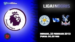 Jadwal Liga Inggris Leicester City Vs Crystal Palace, Minggu Pukul 00.30 WIB