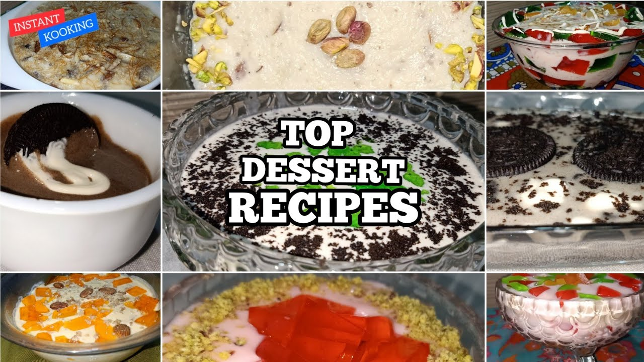 Top 14 Tasty Dessert Recipes   The Best Tasty Dessert of the Year 2020   Instant Cooking